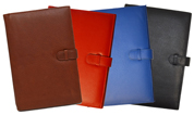 Black, Blue, Red, British Tan Premium Leather Journal Covers
